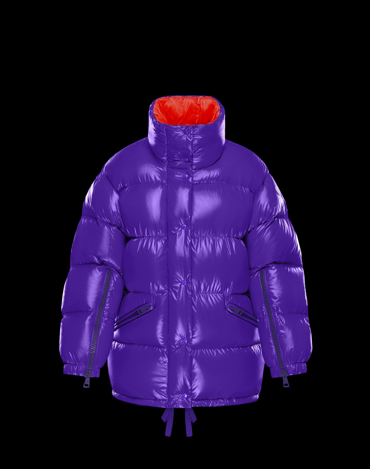2018 Moncler Callis Down Women Jackets Purple