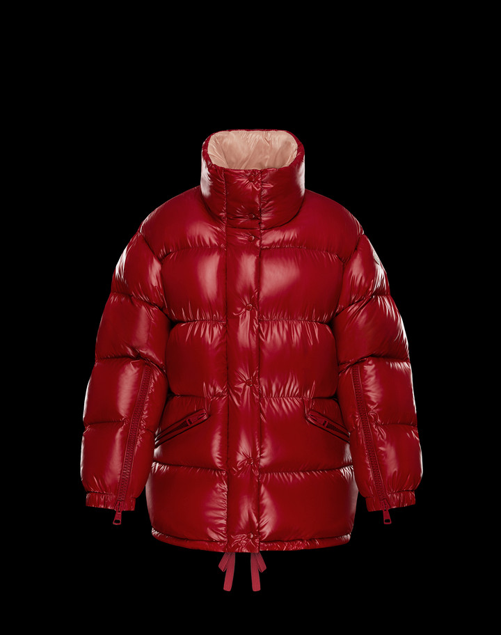 2018 Moncler Callis Down Women Jackets Red