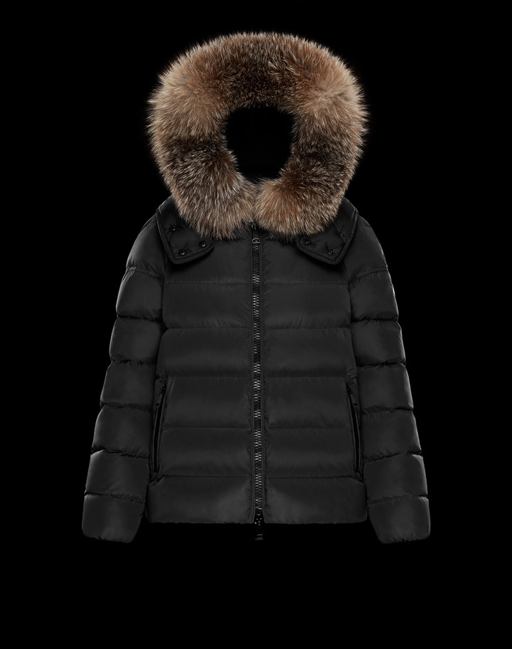 2018 Moncler Chitalpa Down Womens Jackets Black