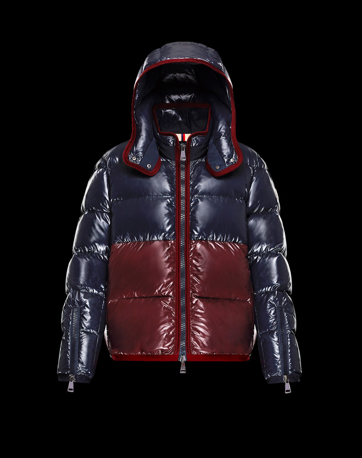 2018 Moncler Cotinus Down Womens Jackets BlueRed