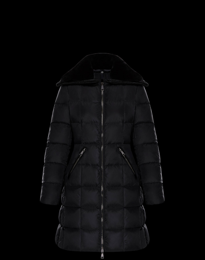 2018 Moncler Davidia Down Womens Jackets Black