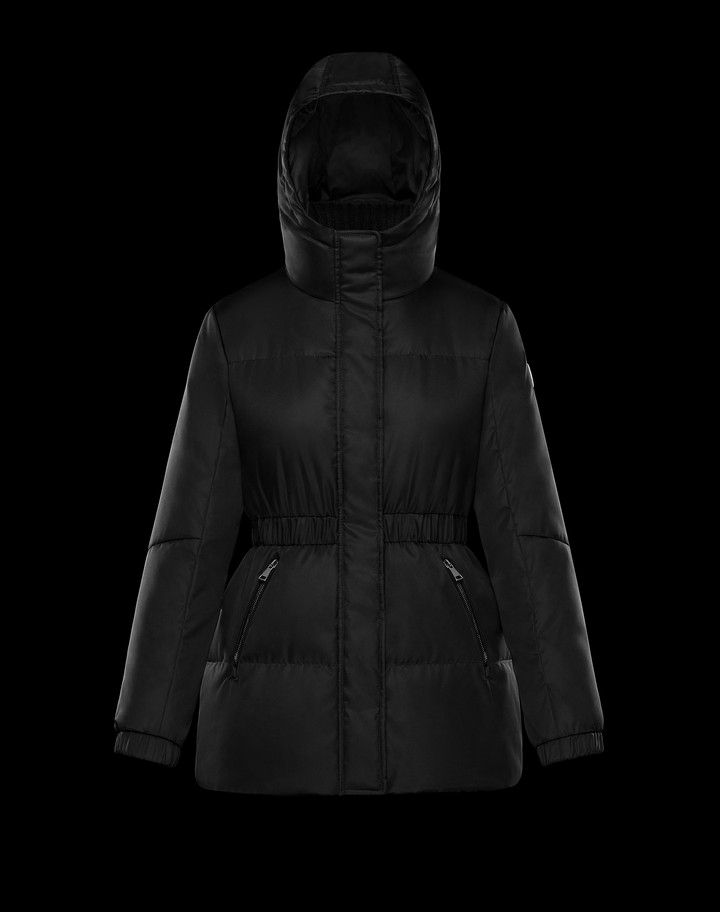 2018 Moncler Fatsia Down Womens Jackets Black