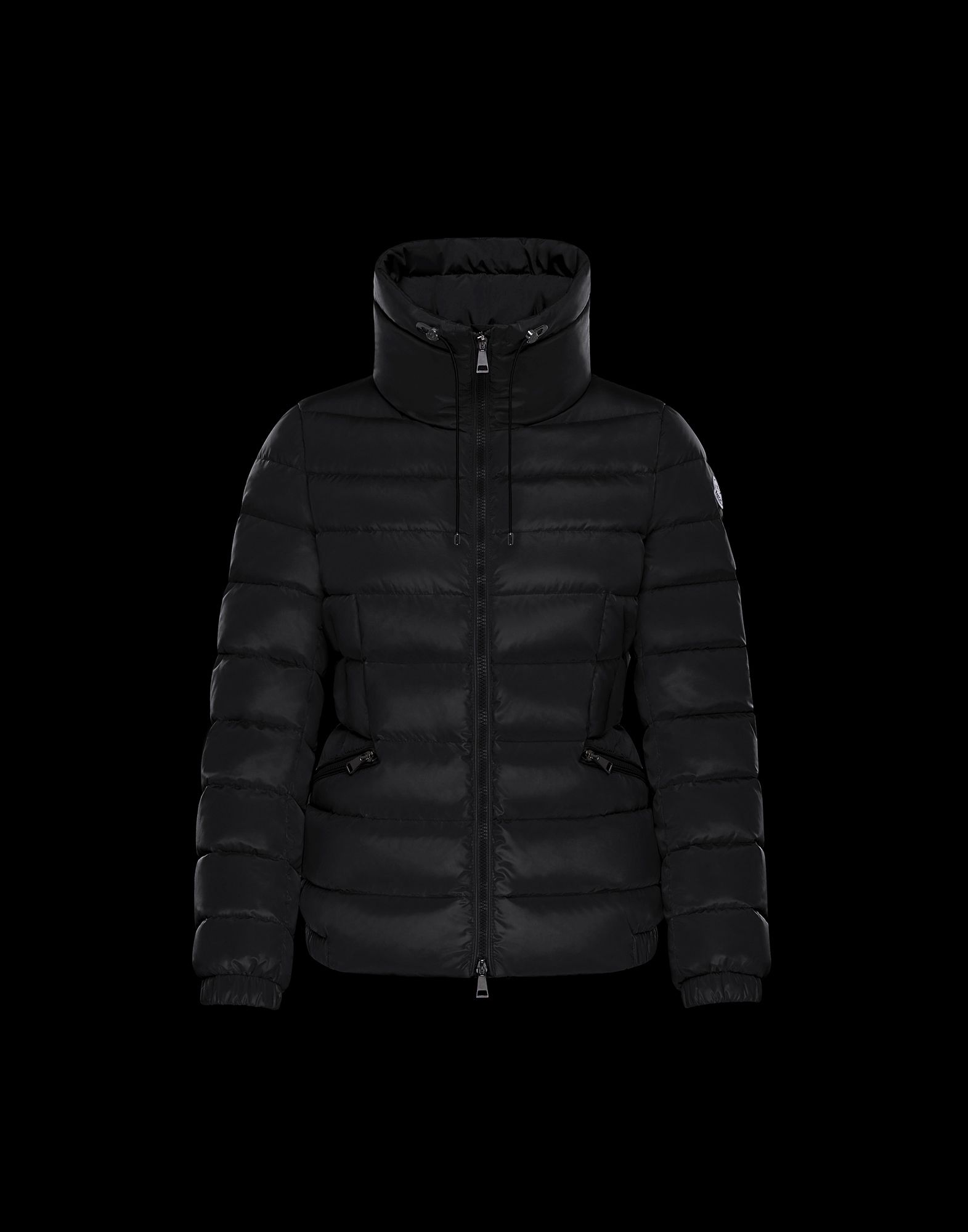 2018 Moncler Irex Quilted Puffer Coat Womens Black