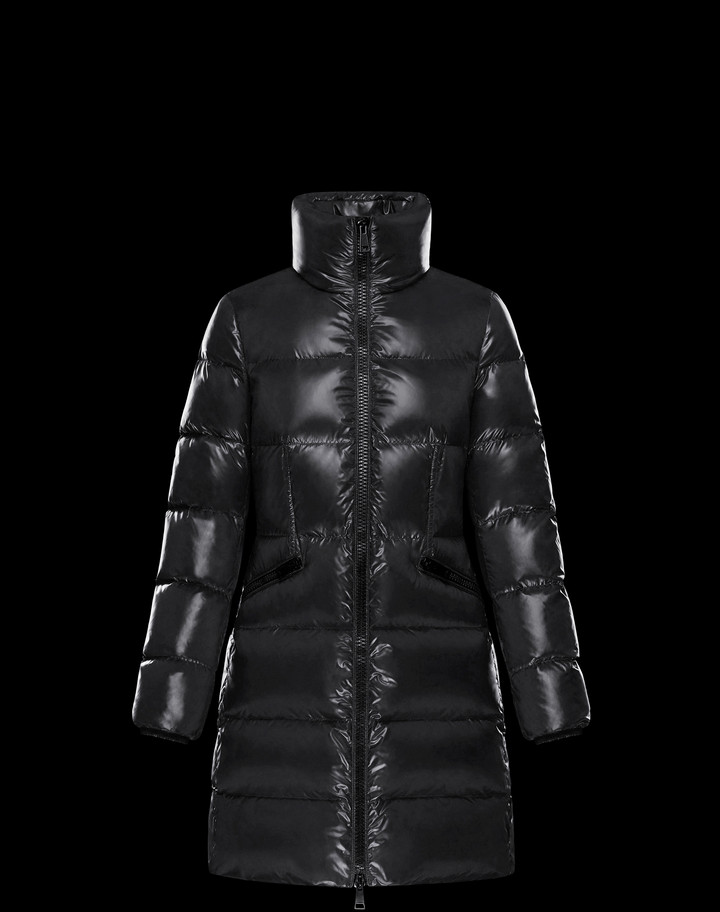 2018 Moncler Jasminum Down Womens Jackets Black