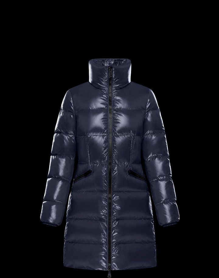 2018 Moncler Jasminum Down Womens Jackets Blue