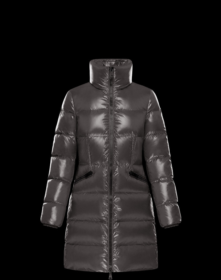 2018 Moncler Jasminum Down Womens Jackets Gray