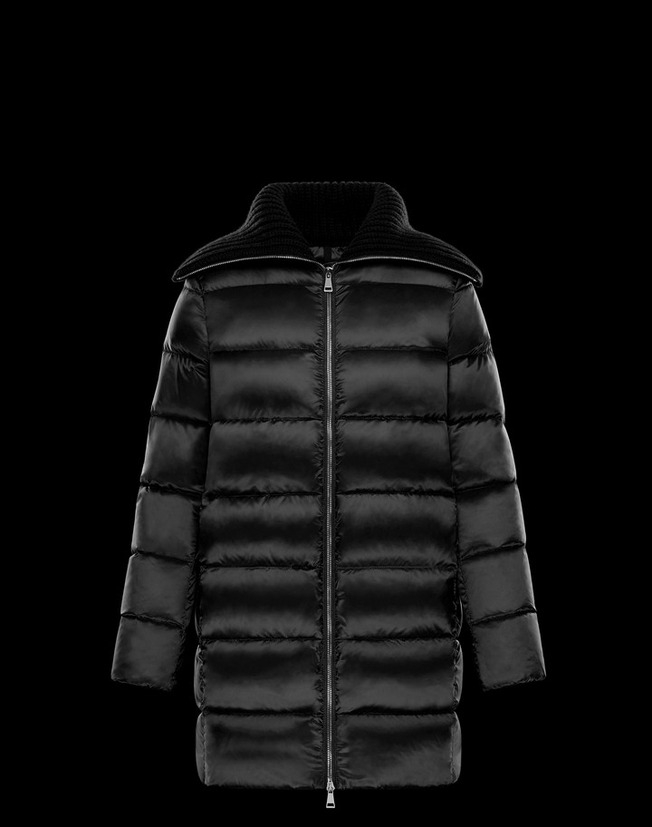 2018 Moncler Laburnum Down Womens Jackets Black