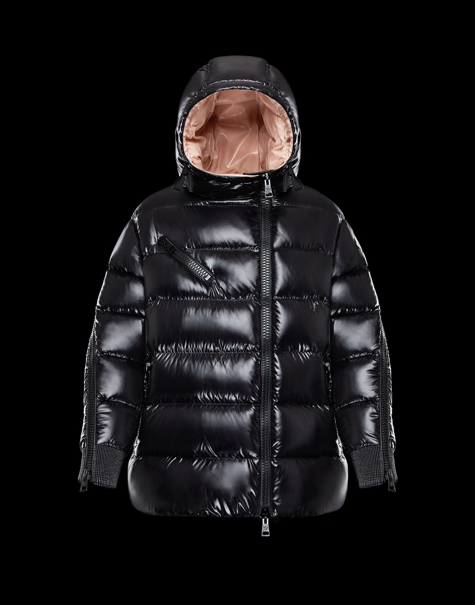 2018 Moncler Liriope Down Womens Jackets Black