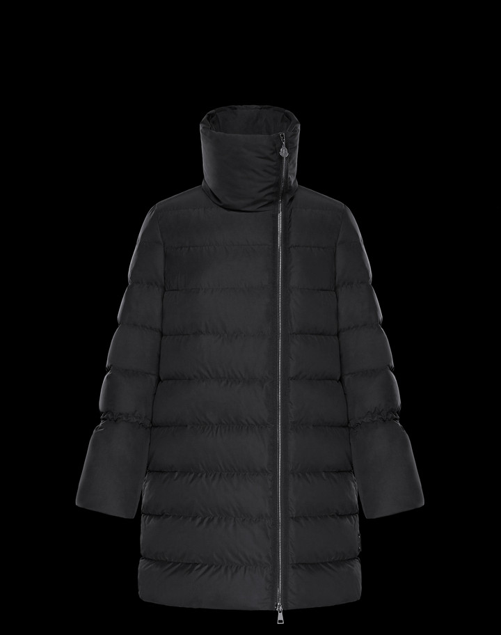 2018 Moncler Lobelia Down Womens Jackets Black